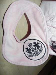 NWT JUICY COUTURE large pink baby diaper travel bag tote + extras Saks