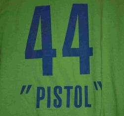 Atlanta Hawks NBA Pistol Pete Reebok Hardwood Classics