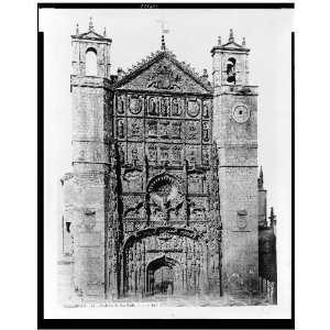 Valladolid. Fachada de San Pablo / J. Laurent 1860: Home