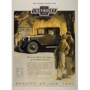 1926 Ad Chevrolet Chevy Automobile Antique Vintage Car   Original