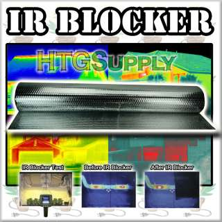 thermal imaging block ir also blocks thermal and radiant heat so it is