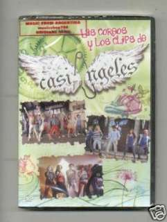 DVD CASI ANGELES COREOS Y CLIPS VOL 2 NEW TEEN ANGELS
