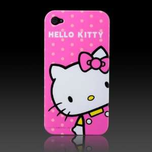 Hello Kitty Pink Dots Images hard case cover for Apple