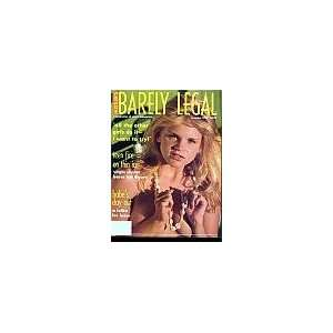 Legal November 1994 Editors of Hustlers Barely Legal Magazine Books