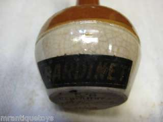 Bardinet Rum? Whiskey? MINIATURE BOTTLE ANTIQUE 30S