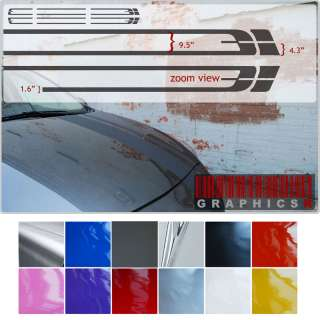 Racing Stripes   Automotive Body Graphics Rally Stickers Decals RSRS