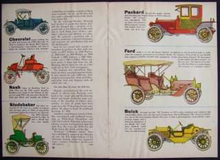 Clarence Hornung Antique Auto Car prints 1954 pictorial