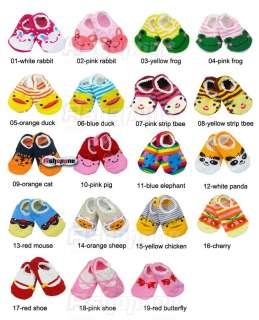 Unisex Baby Kids Toddler Girl Boy Anti Slip Socks Shoes Slipper
