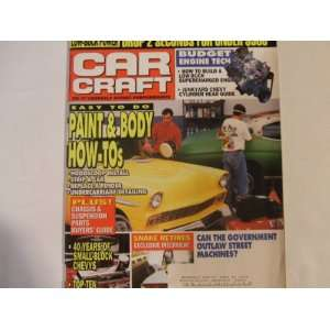 Car Craft Magazine November 1994 Low Buck Power, Paint and Body How To