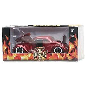 West Coast Choppers Jesse James Ford Coupe Candy Red 124