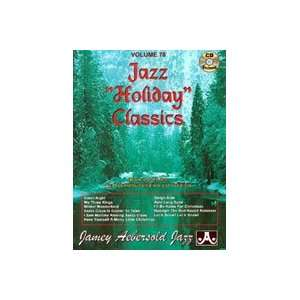 Holiday Classics, Volume 78 (Book and CD) Jamey Aebersold Books