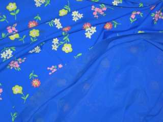 BLUE LYCRA FABRIC/SWIM DANCE BLUE STRETCH FABRIC 4W BTY