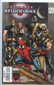 Ultimate Spider man 2000 series # 120 near mint comic