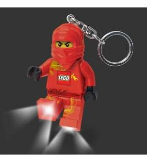 LEGO Ninjago Keychain Light: Red *New*