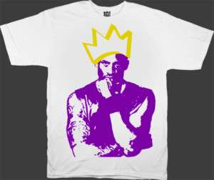 Kobe Bryant Crown Los Angeles Lakers T Shirt