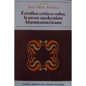 Hispanoamericana (9788439939337): Jose Olivio Jimenez: Books