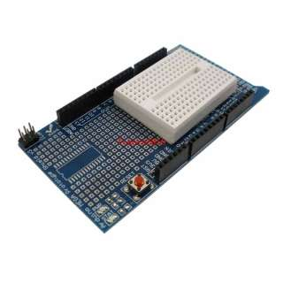Arduino Mega Prototype Shield + 170 tie points Self adhesive