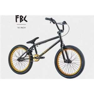 Fit Bike 18 BMX Dirt Jump Bicycle Black 2012 Sports