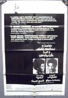 Sheet Movie Poster 1977 Paul Winfield Cicely Tyson
