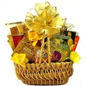 Moms Heart of Gold Mothers Day Gift Basket  Grocery