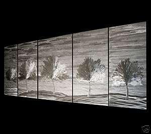 HUGE ABSTRACT MODERN METAL ART WALL SCULPTURE LANDSCAPE