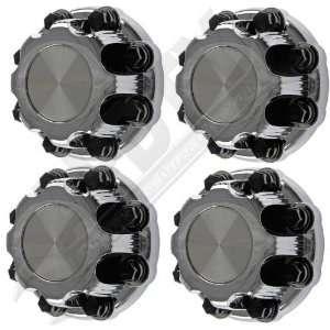 Chevy Silverado 8 Lug Wheel Center Cap/Lug Nut Cover Chrome Set Of 4