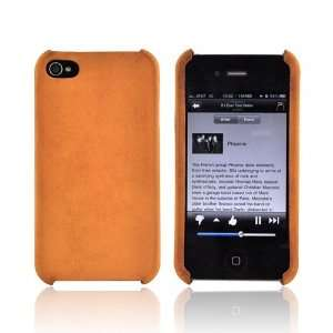 Tan OEM Cellet Genuine Cow Hide Leather Case For AT&T