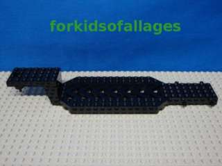 Lego Truck Tractor Trailer Base Black 8x30 Semi Rig