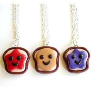 Jelly & Grape Jelly Three Way Best Friend Necklaces Toys & Games