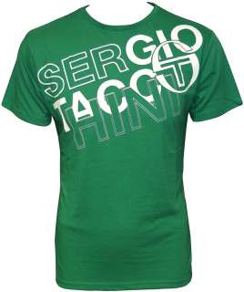 NEW MENS Sergio Tacchini PACK OF TWO Tee T Shirt SIZE
