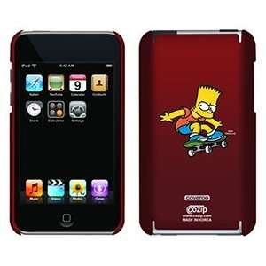 Skateboarding Bart Simpson on iPod Touch 2G 3G CoZip Case