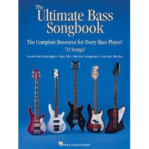Ultimate Bass Songbook   the Complete Resource for Every Bass Player