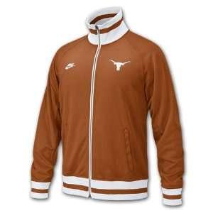 Texas Longhorns Full Metal Nike Track Jacket