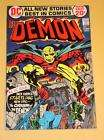 Demon #1 VF Origin Issue / Jack Kirby art 1972