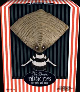 Tim Burtons TRAGIC TOYS Oyster Boy VINYL Figure NEW