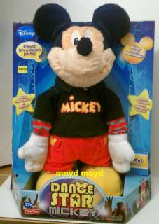 Dance Star Mickey Mouse Fisher/Price DISNEY free ship