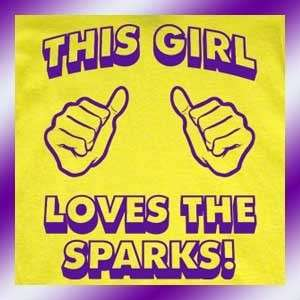 LA Sparks T Shirt WOMENS los angeles new funny girl tee