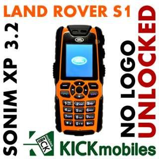 BNIB SONIM XP3.2 QUEST LAND ROVER S1 ORANGE UNLOCKED