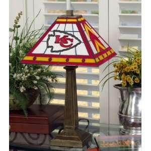 Kansas City Chiefs Memory Company Team Mission Lamp NFL Football Fan