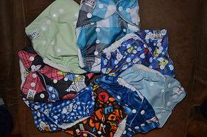 Cloth Diaper   Multiple Prints Available  Pocket Diapers (no insert