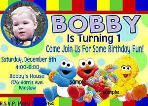 Vintage Retro Football Boy Birthday Party Invitations
