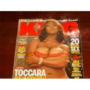 King Magazine, March/April 2006 Toccara: King Magazine: