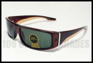 BIKER Rider Sunglasses for Men Casual Style BLACK