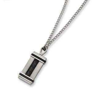Stainless Steel Black Plating Necklace Jewelry