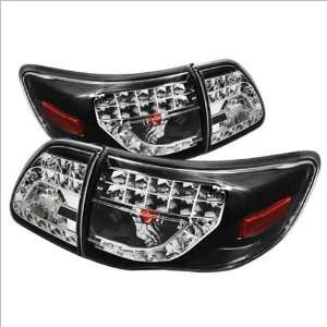 Spyder LED o / Altezza Tail Lights 09 11 Toyota Corolla