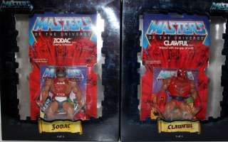 HE MAN MOTU COMMEMORATIVE SERIES LIMITED EDITION EXCLUSIVE 5 PACK MIB