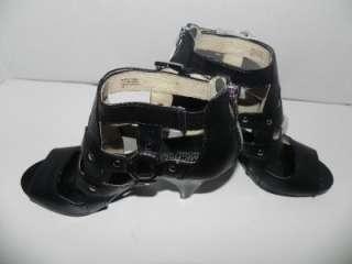 NEW Michael Kors Bayville Open toe Black Strap Cage 7.5