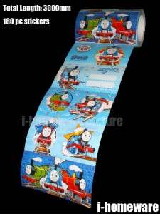 Thomas and Friends Tank Engine License Party Gift Supply Sticker