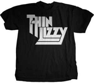 Thin Lizzy Classic Logo T   Shirt