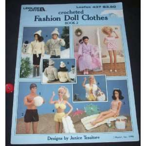 Crocheted Fashion Doll Clothes, Book 2 (Leisure Arts